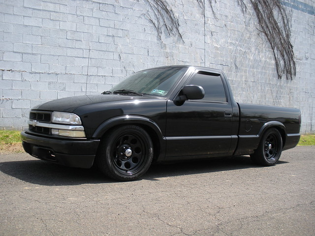 black slammed chevy s10 | Flickr - Photo Sharing!