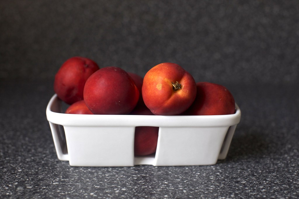 jersey nectarines | Nectarine Brown Butter Buckle on smitten ...