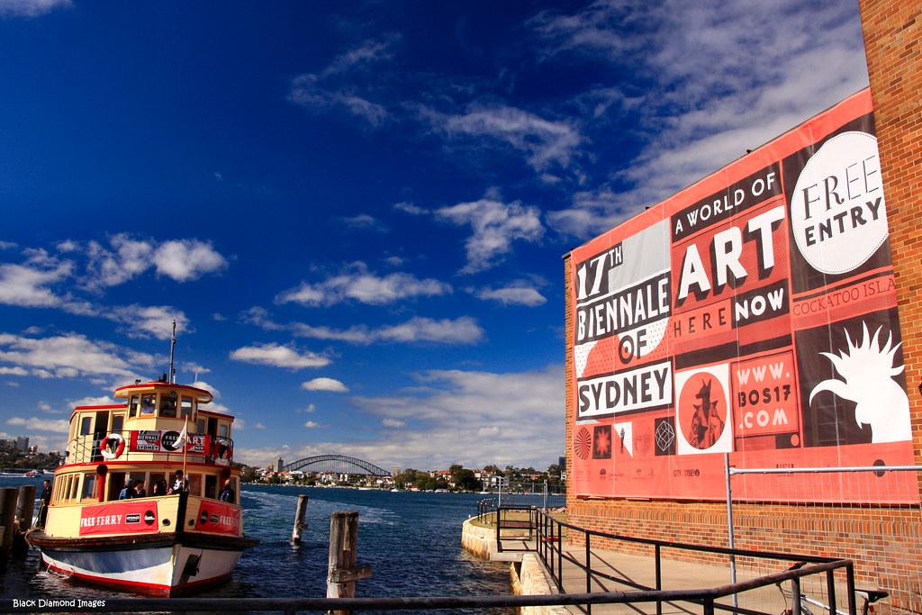 Biennale Ferry To Cockatoo Island