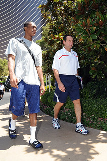 Rajon Rondo and Coach K | by RajonRondo