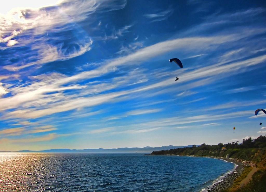 Paragliding Vancouver Island