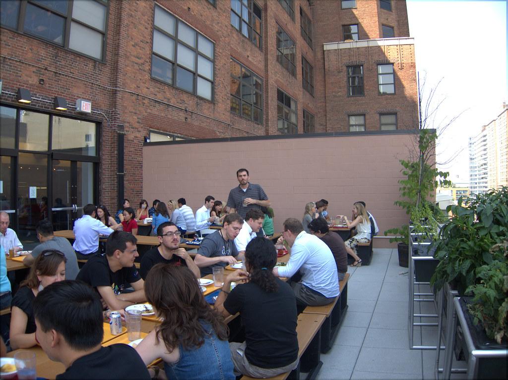 Good Outdoor Seating Restaurants West Village