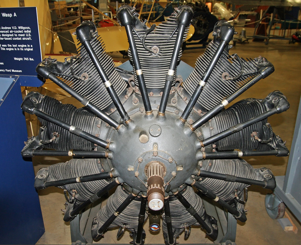Pratt & Whitney R-1340 Wasp A | Donated by the Henry Ford ...