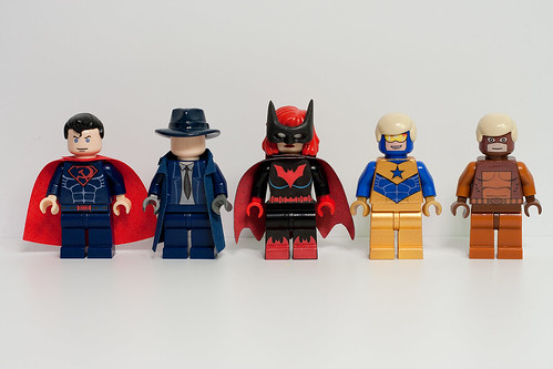 DC Hero Minifigs - Wave 11 | by levork
