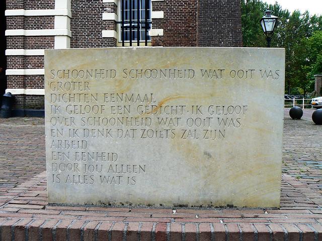 Gedenkstein Marinus van der Lubbe