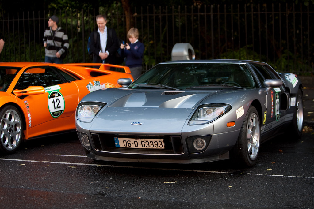 Cannonball Run Ireland  Ford Gt By Stephen Hayes