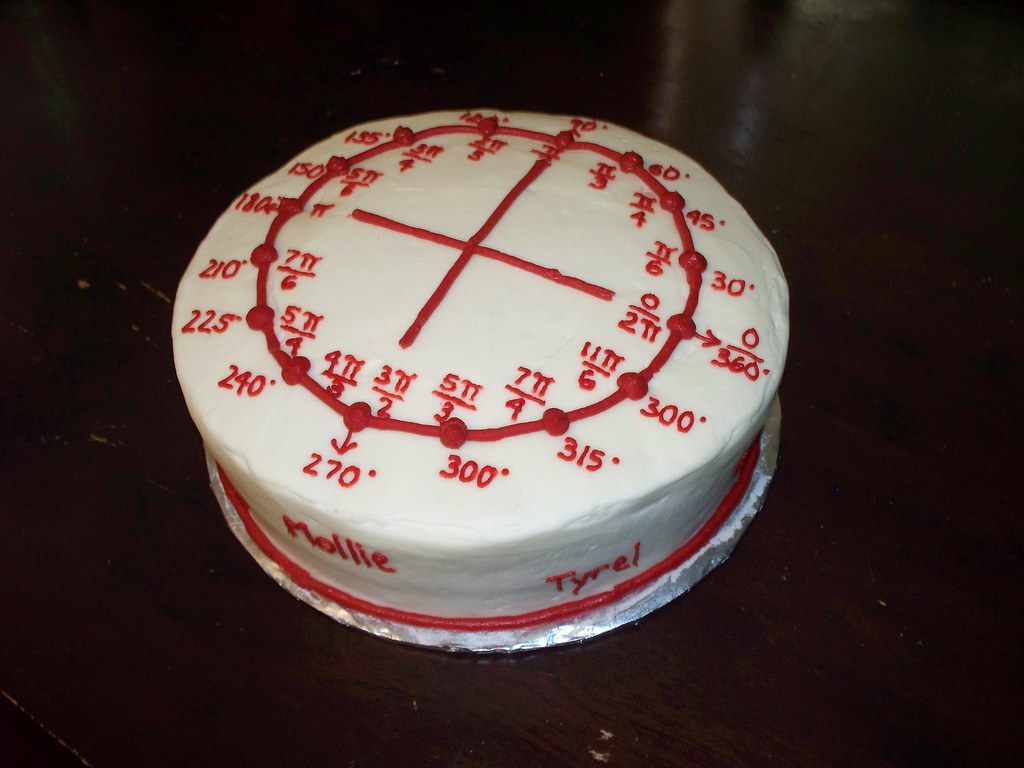 Calculus Cake Unit Circle Cake Sugar Cakes Flickr