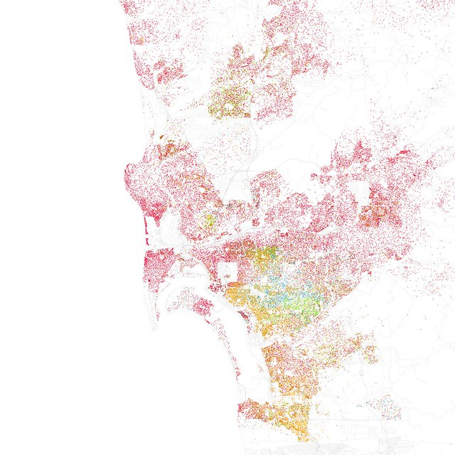 Race And Ethnicity Flickr - Race maps of us cities