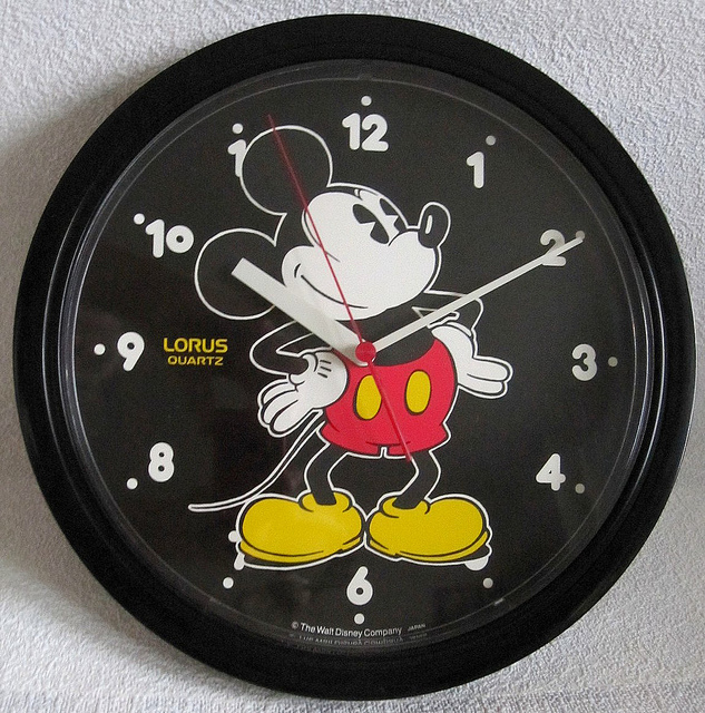 Mickey Mouse Wall Clock Mickey Mouse Wall Clock