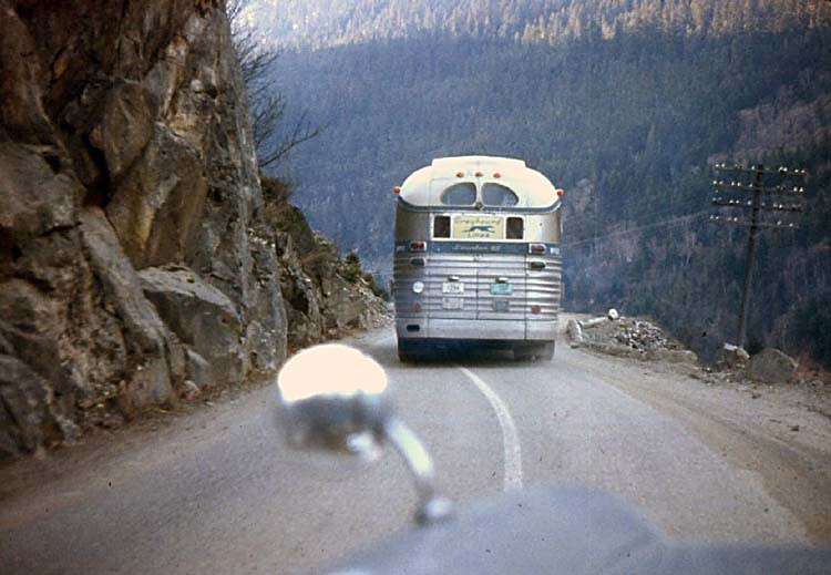 Fraser Canyon Highway, 1960 | Travel British Columbia ...