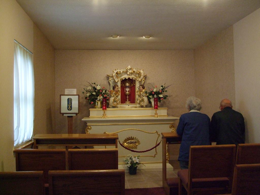 St philomena catholic church adoration chapel peoria il flickr