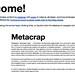 Metacrap Preso