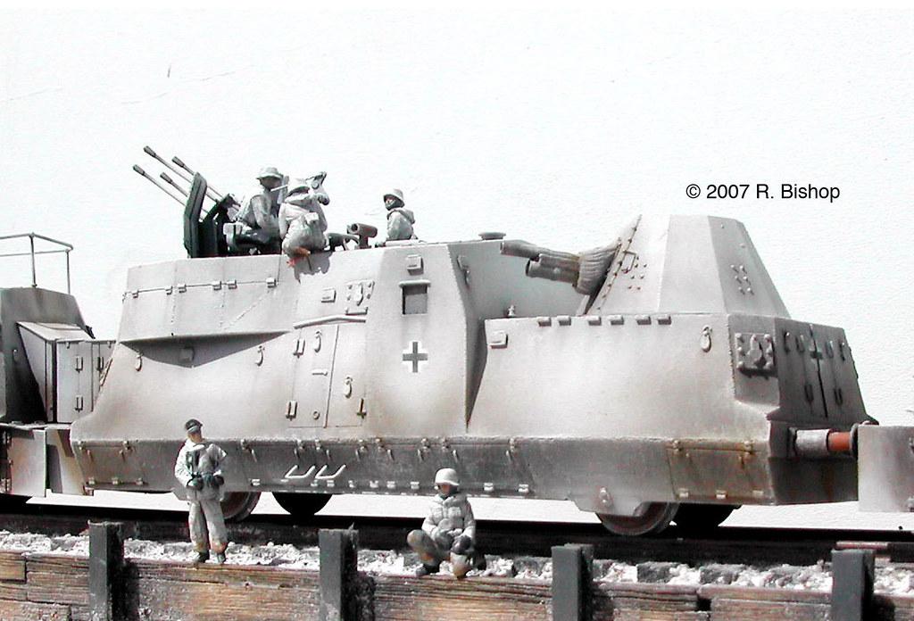 Flak 88 Railcar diorama