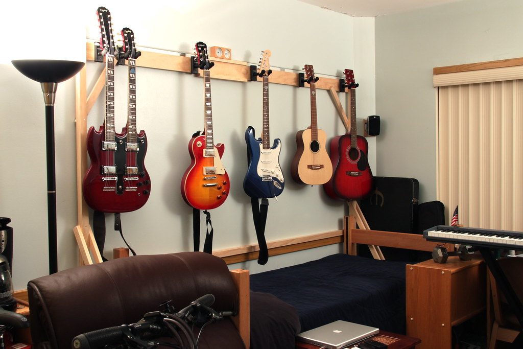 Diy Guitar Hanger I Wanted To Get A Guitar Hanger For