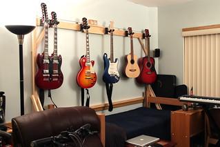 Diy Guitar Hanger I Wanted To Get A Guitar Hanger For