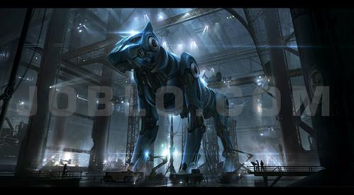 100924(3) - 插畫家「Andree Wallin」親繪3枚好萊塢電影版《五獅合體聖戰士 Voltron》巨幅概念圖出爐!