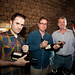 Ev, Biz & John at Twitter Wine Launch, Fledgling