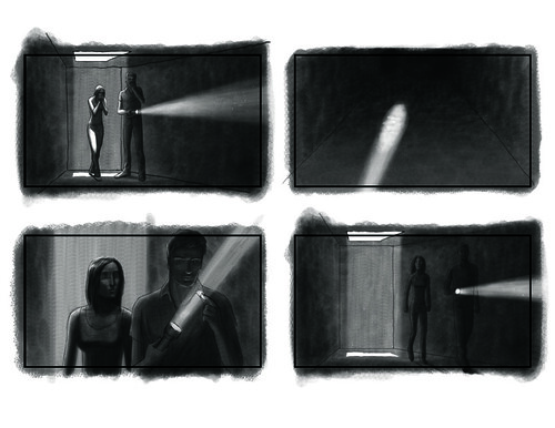 horror movie storyboard 01 | by j.albright