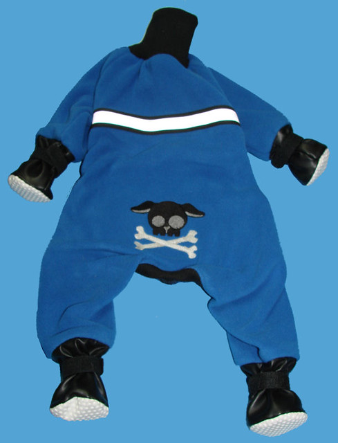 Dog Snowsuit | 4-legger snowsuit made with polartec wind ...