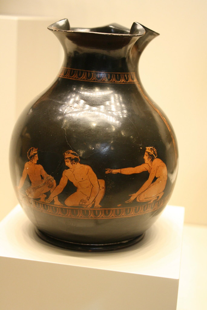 A Remarkable Attic Red Figure Chous Attributed To The Grou Flickr