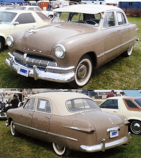 1950 Meteor Deluxe 4 Door Canadian Ford This Is