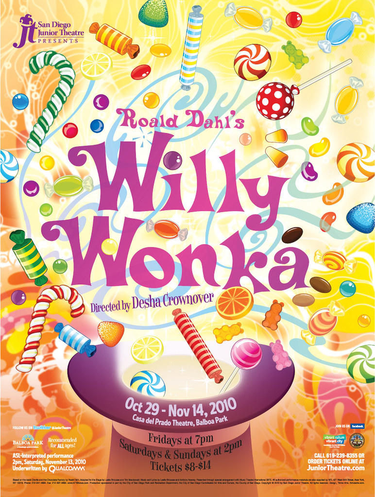Poster design guidelines - Dahlu0026 39 S Willy Wonka Poster Poster Design For San