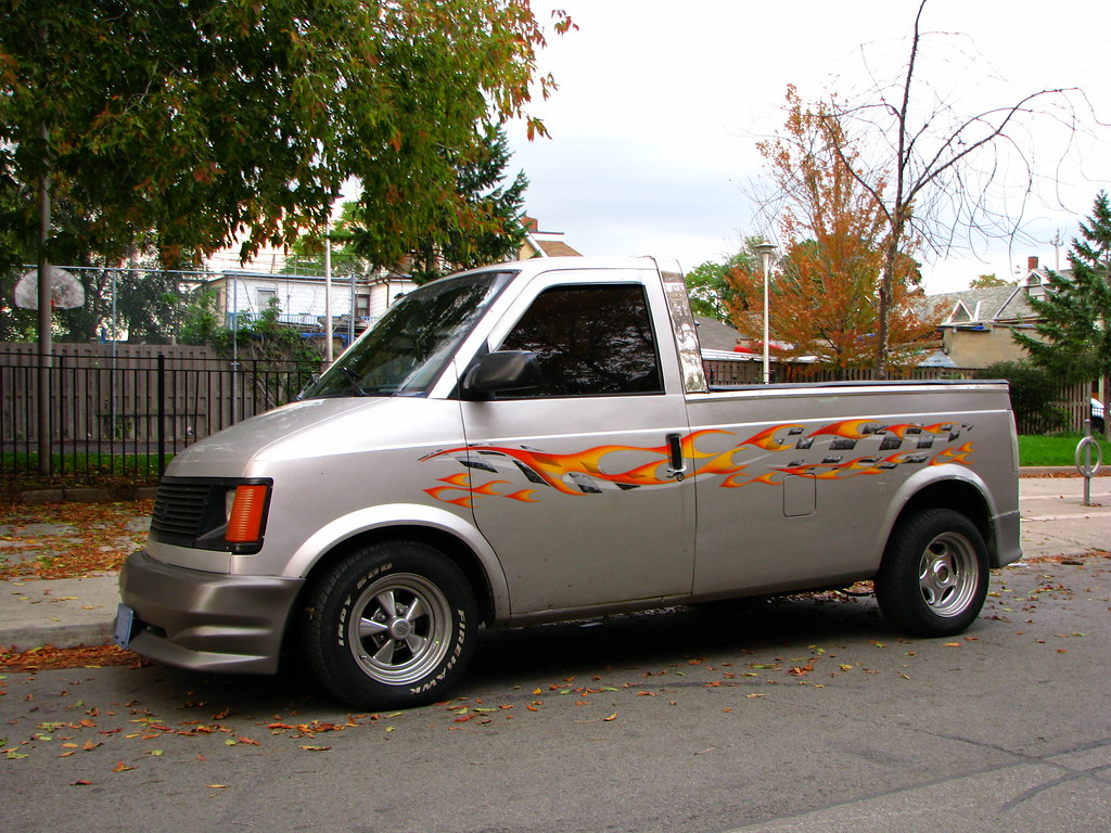 Chevy Astro Van >> Chevy Astro Pickup | Quite the interesting chop job! Seems t… | Flickr