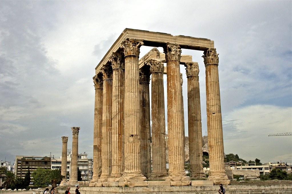 Temple of Olympian Zeus..... (Athens)  ATHENS SEPTEMBER ...