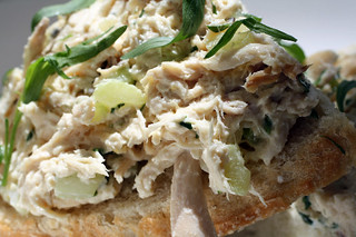 Tarragon Chicken Salad Tartine | by French Revolution Food