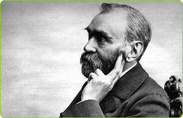 Alfred Nobel, the founder of the Nobel Peace Prize | by BlatantWorld.com