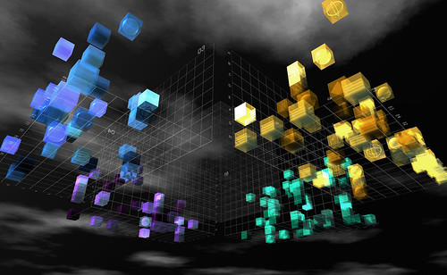 The 3D visualization of overwhelming data ;-) | by Elif Ayiter/Alpha Auer/..../