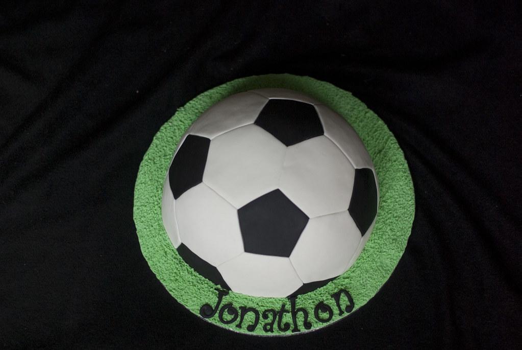 Soccer Ball Cake Ideas Easy