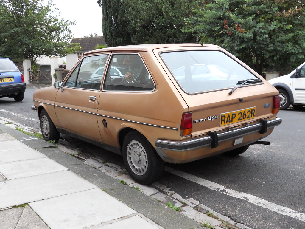 ford fiesta ghia mk1 full of wob with a general air of man flickr. Black Bedroom Furniture Sets. Home Design Ideas