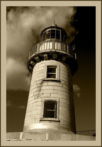 East Pier Lighthouse Dún Laoghaire Harbour (Ireland) Triptych 3 | by Lifel-Mod