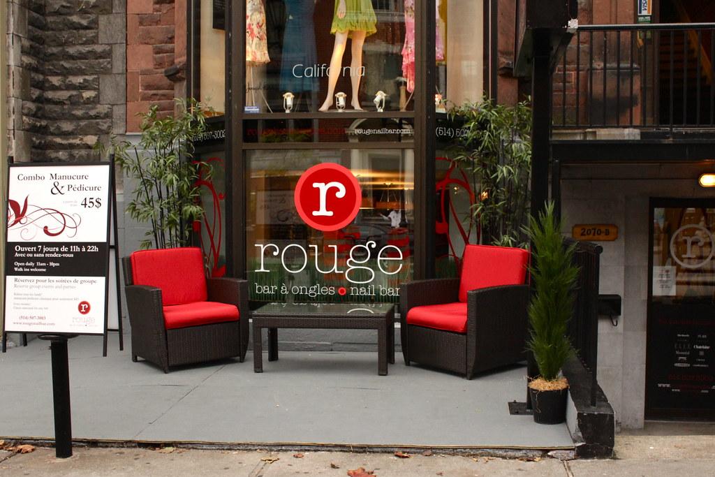 Rouge Nail Bar Crescent Salon Patio
