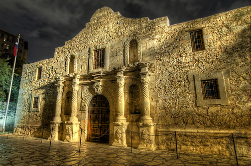 Alamo Night (HDR) | by Knowsphotos