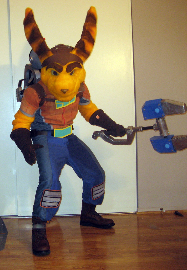 Ratchet And Clank Halloween Costume 1 | Ratchet and Clank po… | Flickr