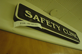 Safety Clinic Sign Science and Treatment Building | by California State University Channel Islands