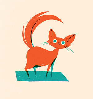 Random purposeless cat drawing. | by Olly Moss