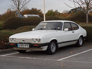 1984 Ford Capri 1.6 Laser Coupe. | by bramm77