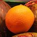 la textura de la naranja