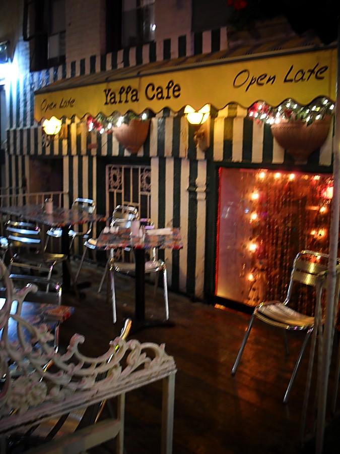 Yaffa Cafe, New York City 1 | Yaffa Cafe. East Village ...