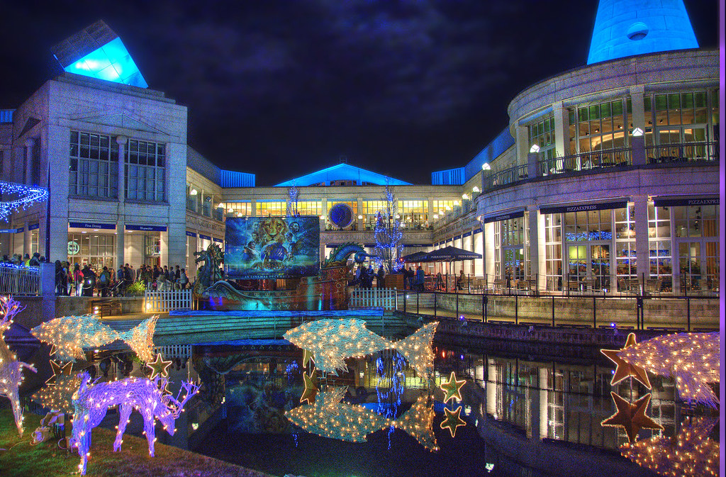 Bluewater Christmas Lights 2_HDR | The Christmas lights and … | Flickr