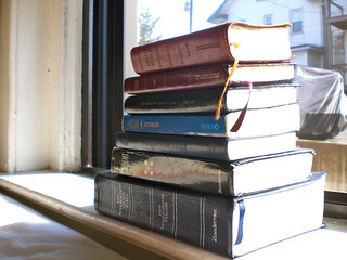 Stack of Bibles | by Bright Adventures