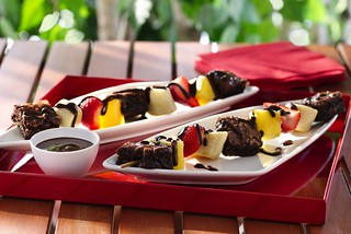 Brownie 'N Fruit Kabobs Recipe | by Betty Crocker Recipes