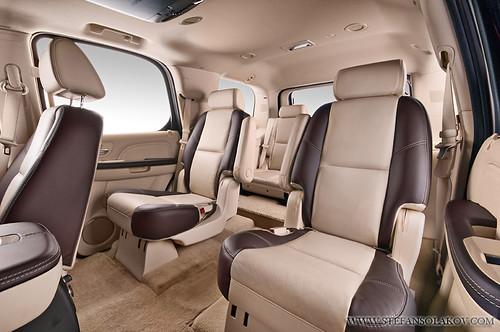 Cadillac escalade with custom interior this escalade has - Cadillac cts interior accessories ...