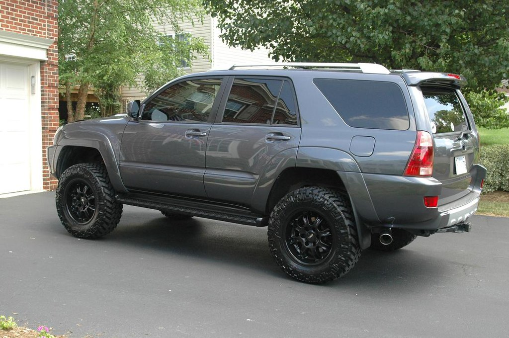 awesome 4runner galactic grey blk powdercoated trd 18x9 flickr. Black Bedroom Furniture Sets. Home Design Ideas