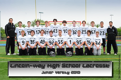 Lincoln Way High School Lacrosse Team Photo 2010 Dfphoto