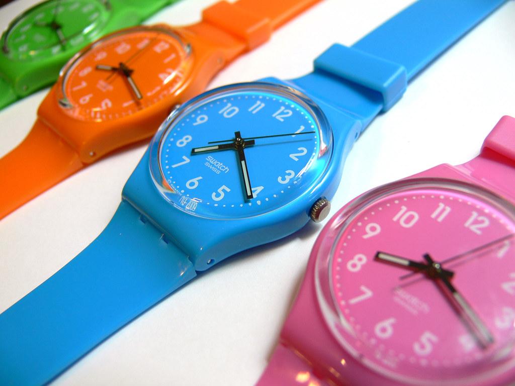 Получить женские фиолетовые часы свотч пермь каталог цены