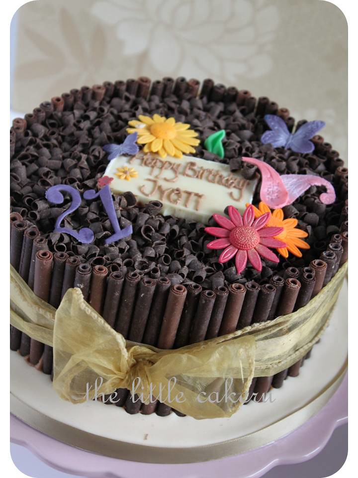Jyoti Eggless Chocolate Extravaganza For A 21st Birthday C Flickr